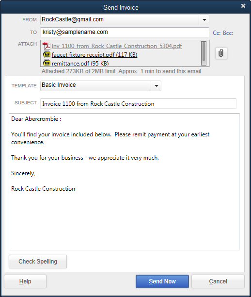 301 moved permanently for Quickbooks templates location